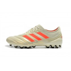 Adidas Copa 19.1 AG Football Boots Champagne