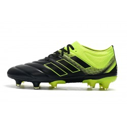 Adidas Copa 19.1 FG Football Boots Black Green