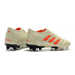 Adidas Copa 19.1 FG Football Boots Champagne Orange