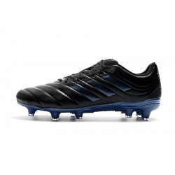 Adidas Copa 19.4 FG Football Boots Black Blue