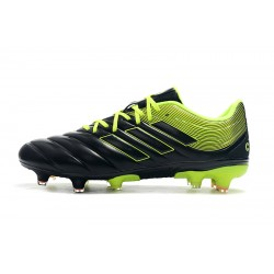 Adidas Copa 19.4 FG Football Boots Black Green