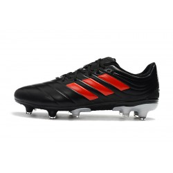 Adidas Copa 19.4 FG Football Boots Black Orange Gray