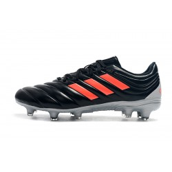 Adidas Copa 19.4 FG Football Boots Black Orange Silver