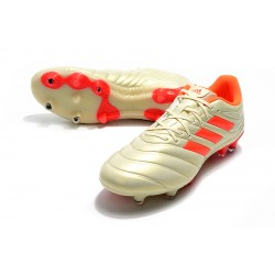 Adidas Copa 19.4 FG Football Boots Champagne Orange