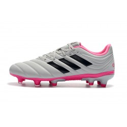 Adidas Copa 19.4 FG Football Boots Grey Black Pink