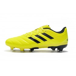 Adidas Copa 19.4 FG Football Boots Yellow Black