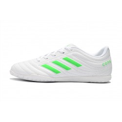 Adidas Copa 19.4 IC Football Boots White Green