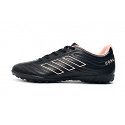 Adidas Copa 19.4 TF Football Boots Black White Pink