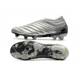 Adidas Copa 20 FG Laceless Football Boots Knitting Silver