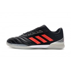 Adidas Copa 20.1 IN Football Boots Knitting Black Orange Silver