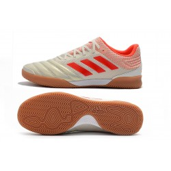 Adidas Copa 20.1 IN Football Boots Knitting Champagne Red