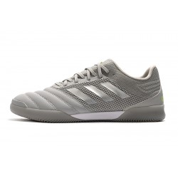 Adidas Copa 20.1 IN Football Boots Knitting Grey Silver