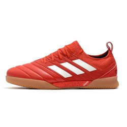 Adidas Copa 20.1 IN Football Boots Knitting Red White