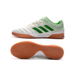 Adidas Copa 20.1 IN Football Boots Knitting White Green