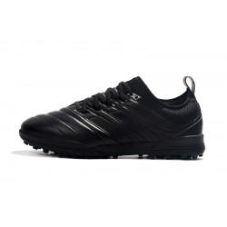 Adidas Copa 20.1 TF Football Boots Knitting MD All Black