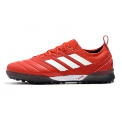 Adidas Copa 20.1 TF Football Boots Knitting MD Red White
