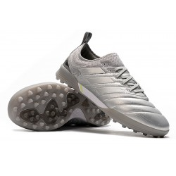 Adidas Copa 20.1 TF Football Boots Knitting MD Silver