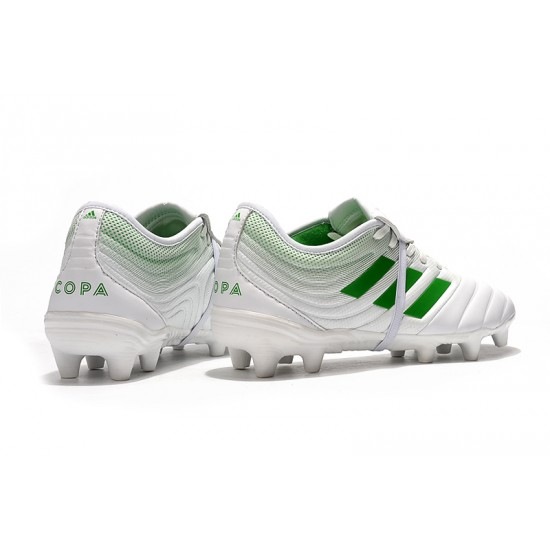 Adidas Copa Gloro 19.2 FG Football Boots White Green