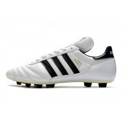 Adidas Copa Mundial FG Football Boots White Black
