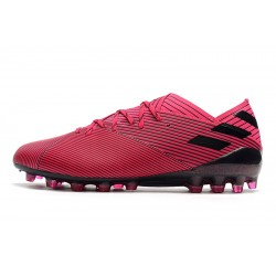 Adidas NEMEZIZ 19.1 AG Football Boots Red Black