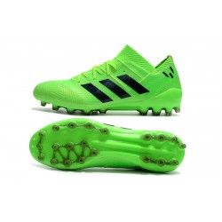 Adidas Nemeziz 18 AG Football Boots Green Black