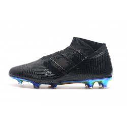 Adidas Nemeziz 18 FG Laceless Football Boots Black