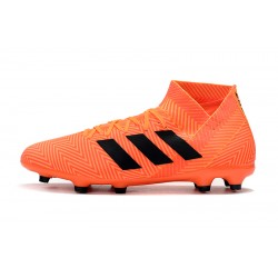 Adidas Nemeziz 18.3 FG Football Boots Orange Black