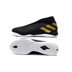 Adidas Nemeziz 19.3 IN Football Boots MD Black Golden