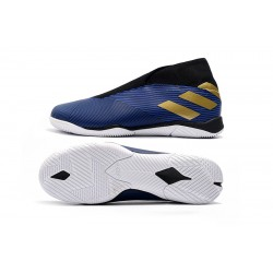 Adidas Nemeziz 19.3 IN Football Boots MD Blue Golden