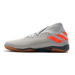 Adidas Nemeziz 19.3 IN Football Boots MD Grey Orange