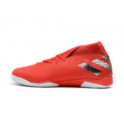 Adidas Nemeziz 19.3 IN Football Boots MD Red Silver