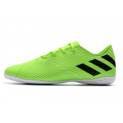 Adidas Nemeziz 19.4 IN Football Boots Green Black