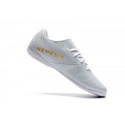 Adidas Nemeziz 19.4 IN Football Boots White Golden