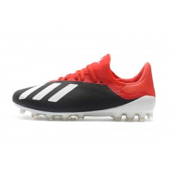 Adidas X 18.1 AG Football Boots Black Red White