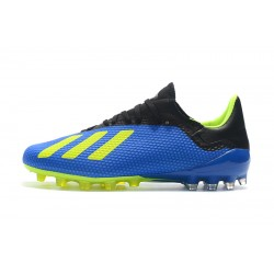 Adidas X 18.1 AG Football Boots Blue Green Black