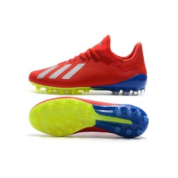 Adidas X 18.1 AG Football Boots Red White
