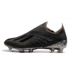 Adidas X 19 FG Laceless Football Boots Black