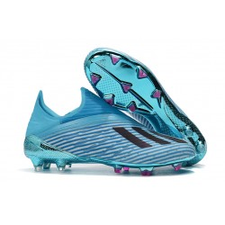 Adidas X 19+ FG Hard Wired Football Boots Bright Cyan Core Black Shock Pink
