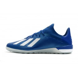 Adidas X 19.1 IC Football Boots Dark Blue White
