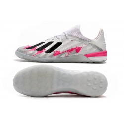 Adidas X 19.1 IC Football Boots White Pink Black