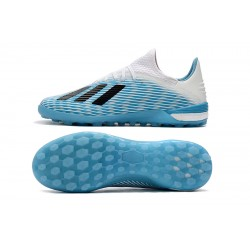 Adidas X 19.1 TF Football Boots Blue White Black