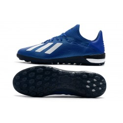 Adidas X 19.1 TF Football Boots Royal Blue White