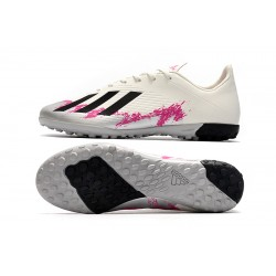 Adidas X 19.4 TF Football Boots White Pink Black