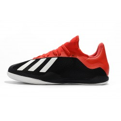 Adidas X Tango 18.3 IC Football Boots Black Red White