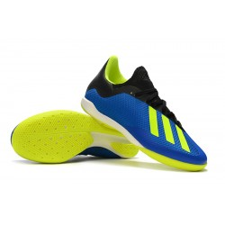 Adidas X Tango 18.3 IC Football Boots Blue Green Black