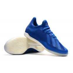 Adidas X Tango 18.3 IC Football Boots Blue White