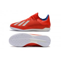 Adidas X Tango 18.3 IC Football Boots Red Silver