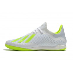 Adidas X Tango 18.3 IC Football Boots White Green