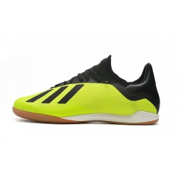 Adidas X Tango 18.3 IC Football Boots Yellow Black