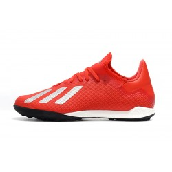Adidas X Tango 18.3 TF Football Boots Red White
